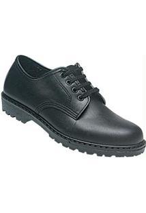 Sapato Masculino Preto Com Cadarço