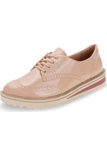 Sapato Feminino Oxford Ramarim - 1990103 Salmão 34