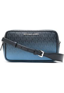 Michael Michael Kors Bolsa Tiracolo Connie Degradê - Azul
