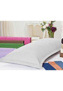 Porta Travesseiro Juma Mini Xuxão Branco - Kanui