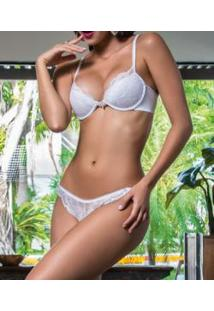 Conjunto Push Up Renda Liebe Luxe (5411)