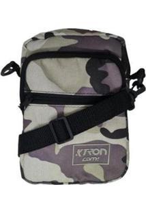 Bolsa Shoulder Bag Ktron Comp Feminina - Feminino-Preto+Lilás