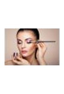 Painel Adesivo De Parede - Salão De Beleza - Maquiagem - 827Pnm