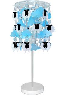 Abajur Carambola Sonhinho Azul