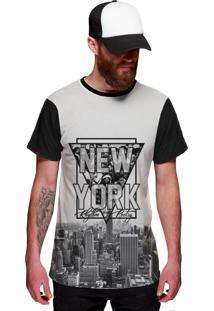 Camiseta Di Nuevo New York Rap Hip Hop Ny Exclusiva Preta