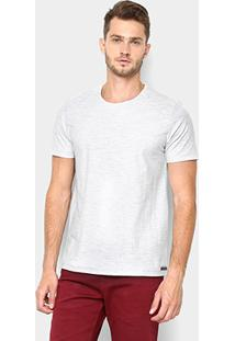 Camiseta Kohmar Flamê Masculina - Masculino-Gelo