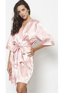 Robe Texturizado- Rosa Clarofruit De La Passion