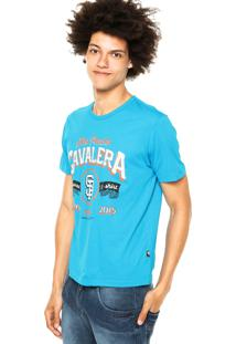 Camiseta Cavalera Addict Azul