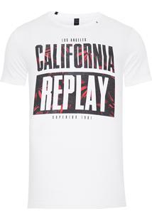 Camiseta Masculina California - Branco
