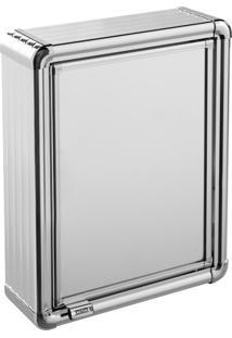 Espelheira Para Banheiro Astra Lbp10/S 1 Porta 29X39Cm Alumínio