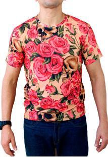 Camiseta Ops Vintage Skull Estampada