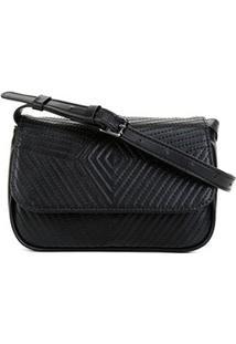 Bolsa Shoestock Belt Bag Matelassê Feminina - Feminino-Preto
