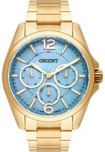 5a5c1e006b3 Eclock. Relógio Aço Dobrável Analógico Feminino Orient Clock Eternal  Fgssm054g2kx