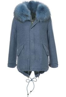 Mr & Mrs Italy London Mist Jacket - Azul