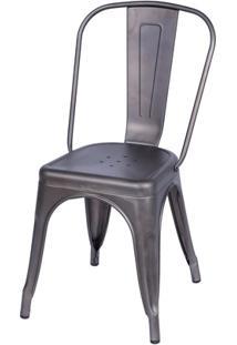 Cadeira Em Alumínio Tommy Bronze