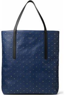 Jimmy Choo Bolsa Tote Pimlico Com Tachas E Estrelas - Azul