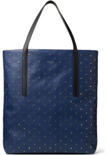 Jimmy Choo Pimlico Star Studded Tote Bag - Azul