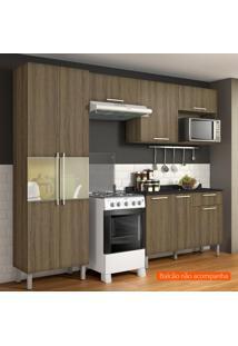 Cozinha Compacta Star 5 Pt Castanho