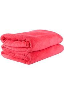 Cobertor Infantil Viagem Parahyba Em Microfibra Com 1 Peça - Cenoura