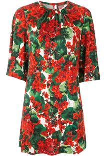 Dolce & Gabbana Blusa Franzida Estampada - Estampado