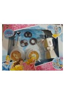 Kit Cafeteira Princesas Disney Toyng 10 Peças