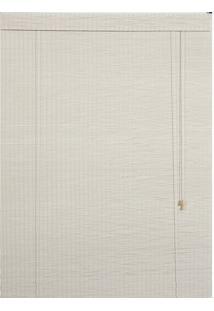 Persiana Roller Bambu Branco 120X160Cm