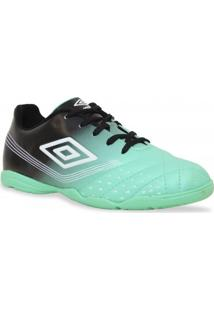 Tenis Umbro Futsal Fifty Jr Azul Preto