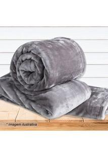 Cobertor Super Soft Queen Size- Bege Escuro- 220X240Sultan