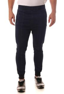 Calça Jeans Denuncia Jogger Azul