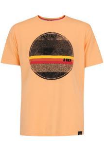 Camiseta Hd All Texture - Masculina - Coral