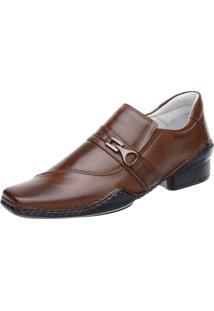 Sapato Social Fearnothi Social Caramelo