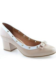 Sapato Feminino Salto Baixo Laço Vizzano 1258103