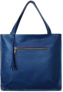 Bolsa Saco Relicário Joana Azul