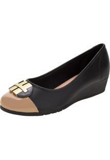 Sapato Feminino Anabela Moleca - 5156770 Preto 34
