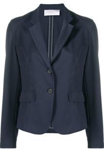 Fabiana Filippi Fitted Tailored Blazer - Azul