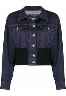 Dolce & Gabbana Jaqueta Jeans - Azul