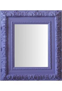 Espelho Moldura Rococó Externo 16255 Lilás Art Shop