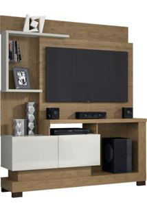 "Estante Home Turin Smart Para Tvs De Até 50"" Avelã / Off White"