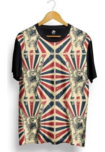 Camiseta Bsc Rock America Full Print - Masculino