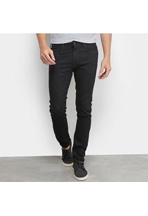Calça Jeans Skinny Calvin Klein Lisa Masculina - Masculino-Preto