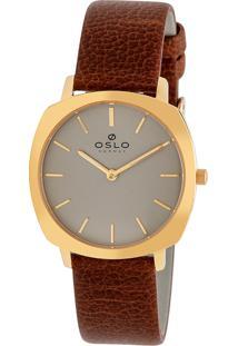 Relógio Oslo Feminino - Ofgscs9T0004 I1Nx - Dourado