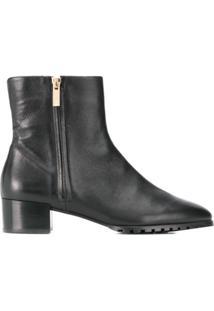 Hogl Ankle Boot Com Zíper - Preto