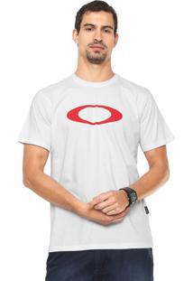 Camiseta Oakley Elipse Tee Branca