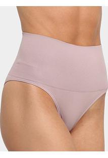 Calcinha Redutora Slim Lupo Sem Costura - Feminino-Nude