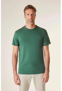 Camiseta Pf Pima Cores Reserva Masculina - Masculino-Verde