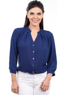 Camisa Love Poetry Lisa Azul