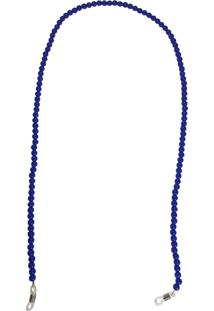 Corrente Bag Dreams Para Óculos Em Missangas Azul Bic