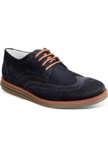 Sapato Sandro & Co Esporte Fino Masculino - Masculino-Azul Escuro