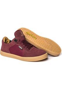 Tênis Embora Footwear Avalon Masculino - Masculino-Vermelho Escuro