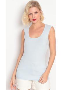 Blusa Básica- Azul Claro- Colccicolcci